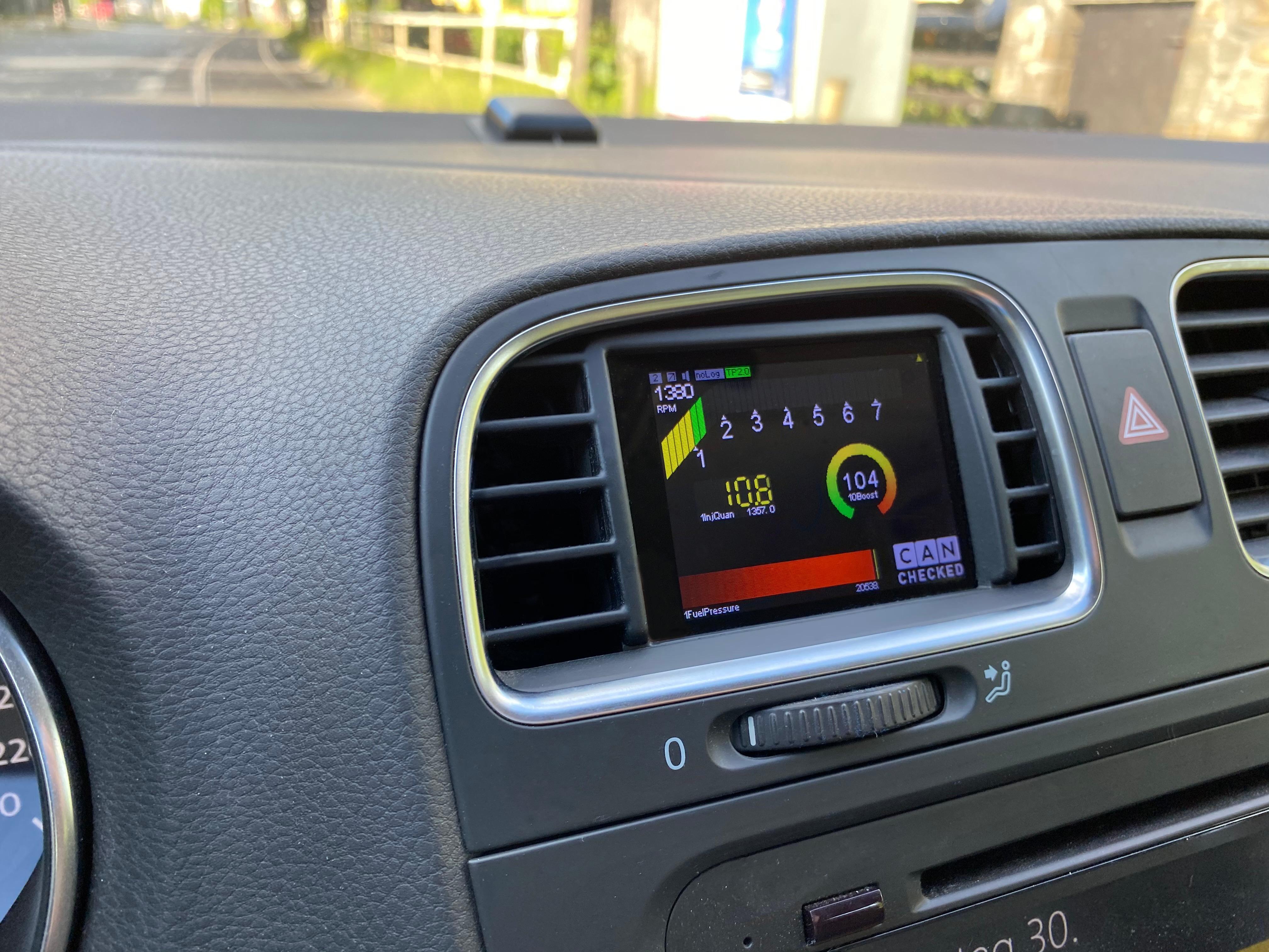 Golf 6 Display Diesel